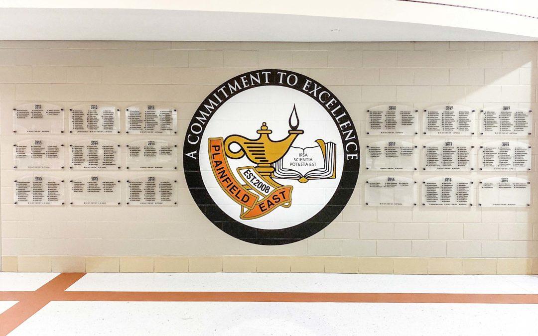 Academic Achievement Recognition Wall