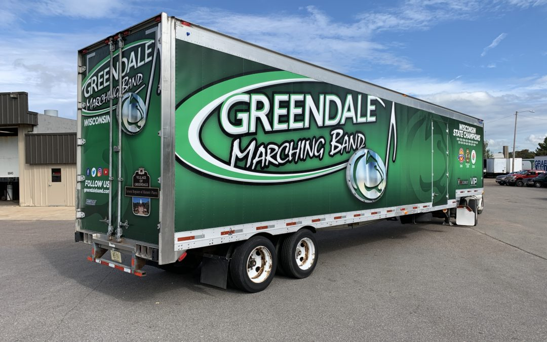 """Greendale Marching Band """"The Road to Pasadena"""""""