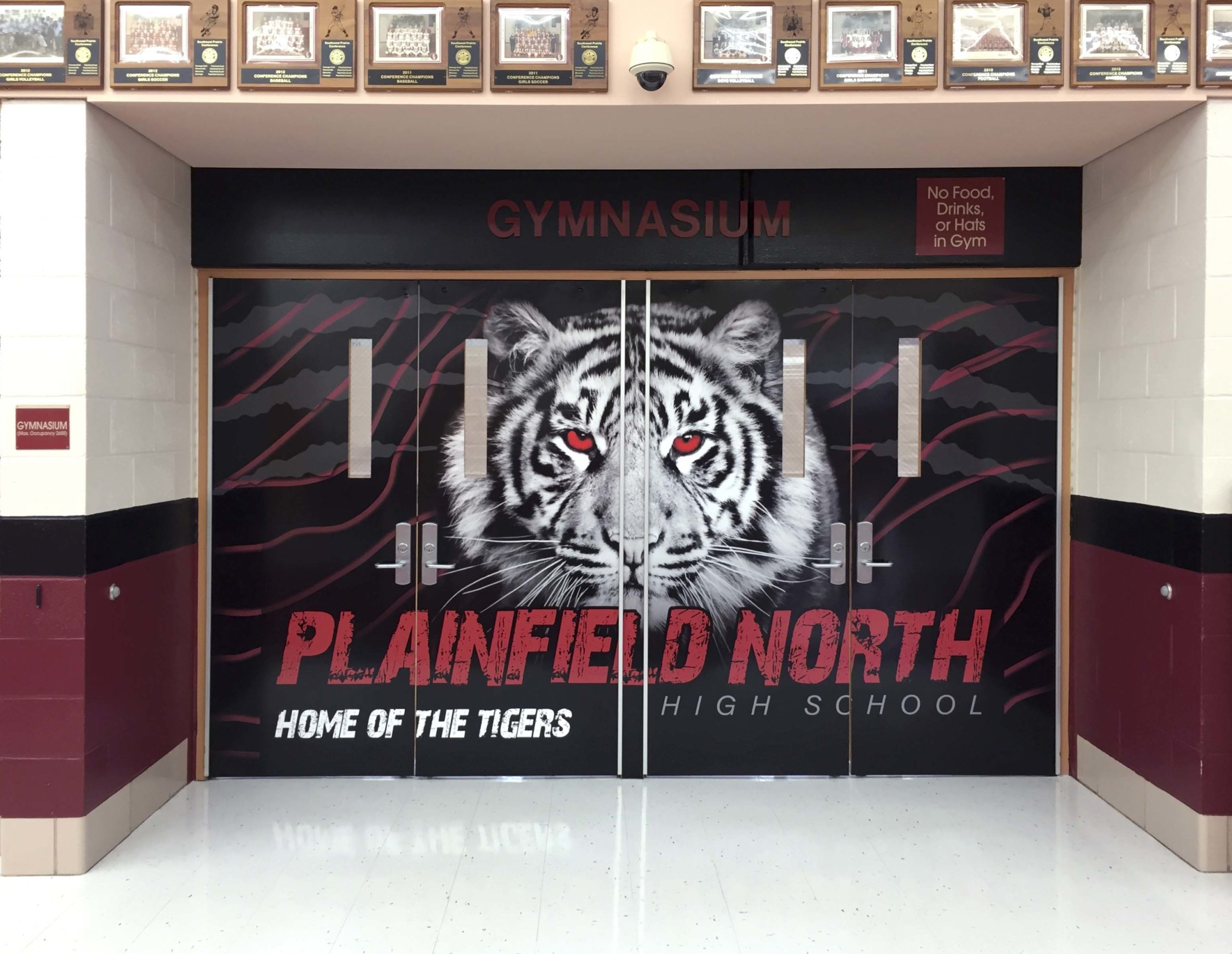 Plainfield North Quad Doors