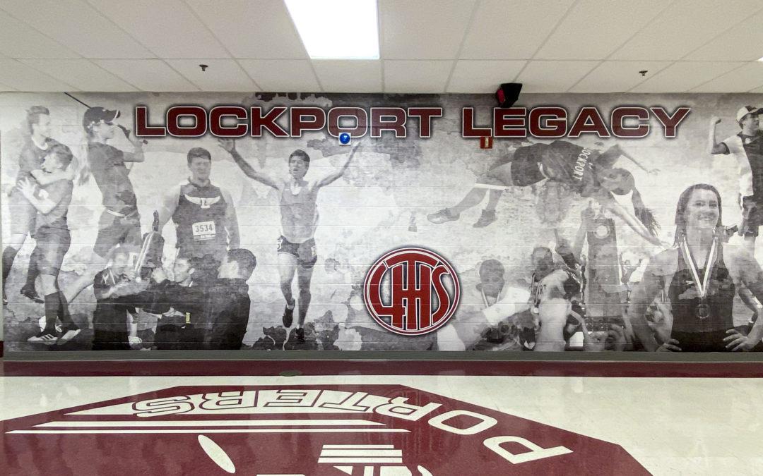 Lockport Athletic Hallway