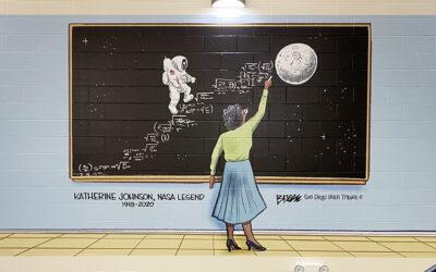 Katherine Johnson Mural